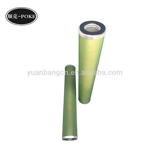 Oil-and-water-separation-filter-core-of