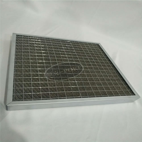 Panel-filter-stainless-steel-material-removing-fum...